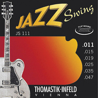 Thomastik JS111 Jazz Swing Series Flatwound Set 11/47