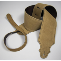 "Franklin 3"" Honey Purist Suede Strap with Buck Backing"