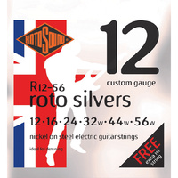 Rotosound R1256 Roto Silvers Electric Detune 12-56