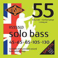 Rotosound RS555LD Solobass Pressure Wound 5 String 45-130